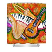 Symphony Of The Soul Shower Curtain
