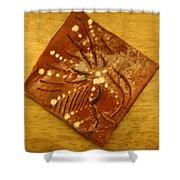 Symptom - Tile Shower Curtain