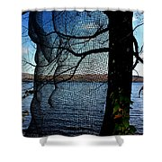 Synchronizing Body And Nature  Shower Curtain