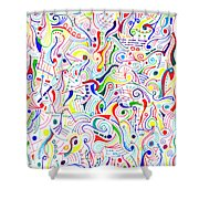 Synesthesia Shower Curtain