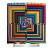 Synesthetic Art - Armik Shower Curtain