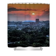 Syracuse Sunrise Shower Curtain by Everet Regal