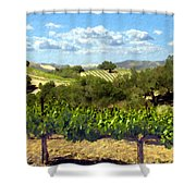 Syrah For Miles Shower Curtain