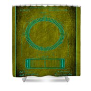 System Of Electrical Distribution Patent Drawing 1d Shower Curtain