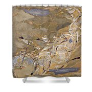 Szenes: Bicycle Racers Shower Curtain