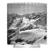 T-404403 Winter View North Cascades Shower Curtain