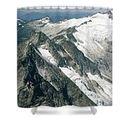 T-504406-c Walt Sellers On Torment Forbidden Traverse Shower Curtain