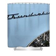 T Bird Shower Curtain