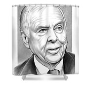 T Boone Pickens Shower Curtain