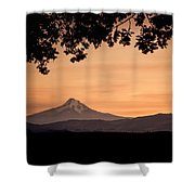 Mt. Hood At Sunset Shower Curtain
