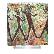 T. M. 9        1 Of 2 Shower Curtain