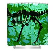 T. Rex Shower Curtain