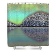 Necks Connected Shower Curtain