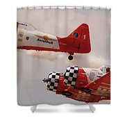 T6 Aerobatics II Shower Curtain