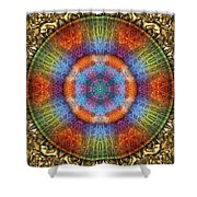 Shall We Gather At The River? Shower Curtain