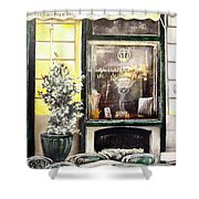 Taberna Del Alabardero-madrid Shower Curtain