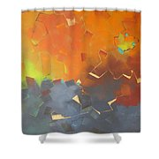 Tabernacle 2 Shower Curtain