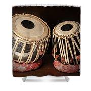 Tabla Musical Instrument Shower Curtain