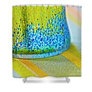 Table Decoration Shower Curtain