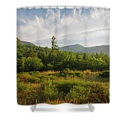Table Mountain - Kancamagus Scenic Byway, New Hampshire Shower Curtain by Erin Paul Donovan
