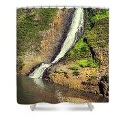 Table Mountain Waterfalls Shower Curtain