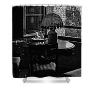 Table Setting Still Life Shower Curtain