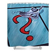 Tacking A Chance Two Shower Curtain