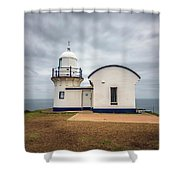 Tacking Point Lighthouse At Port Macquarie, Nsw, Australia Shower Curtain