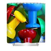 Tacky Art Shower Curtain