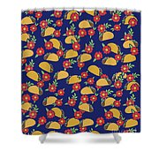 Taco Tuesday  Shower Curtain