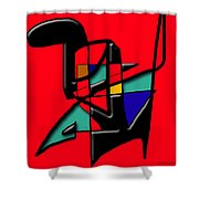 Tactile Space   II   Shower Curtain