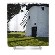 Tacumshane Windmill Shower Curtain