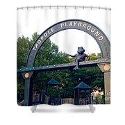 Tadpole Playground Boston Shower Curtain