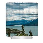 Tagish Lake Shower Curtain