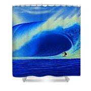 Tahiti 2007 Shower Curtain