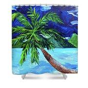 Tahiti Beach Shower Curtain