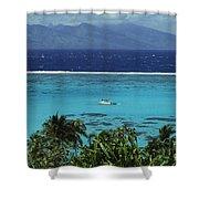 Tahiti, Moorea Shower Curtain