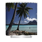 Tahiti View Shower Curtain