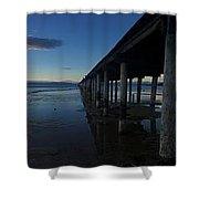 Tahoe Pier Shower Curtain