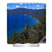 Tahoe Rim Trail Shower Curtain