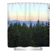 Tahome Sunrise Shower Curtain