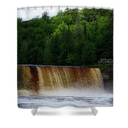 Tahquamenon Lower Falls Upper Peninsula Michigan 10 Shower Curtain
