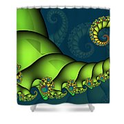 Tail Deluxe Shower Curtain