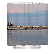Tail End  Shower Curtain