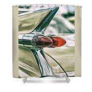 Tail Fin Shower Curtain