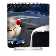Tail Light Shower Curtain