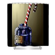 Tainted Candy Shower Curtain