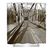 Taiya River Bridge #1 Shower Curtain