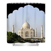 Taj Mahal At Sunrise Shower Curtain