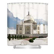 Taj Mahal Dreams Of India Shower Curtain